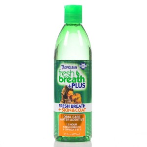 Dodatek do wody TROPICLEAN FRESH BREATH Water Additve Plus Skin & Coat 473 ml
