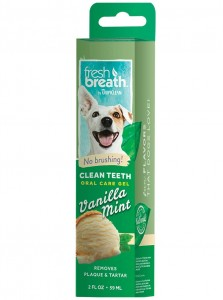 Żel do pielęgnacji zębów i dziąseł TROPICLEAN FRESH BREATH Clean Teeth Gel Vanilla Mint 59 ml