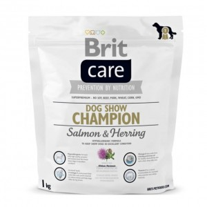 Brit Care Dog Show Champion Salmon&Herring 1kg