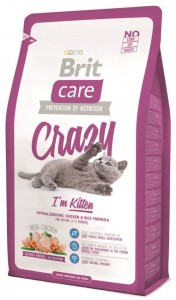 Brit Care Crazy I´m Kitten 2kg