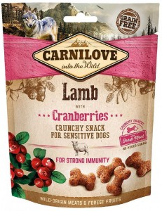 Carnilove Przysmak Crunchy Lamb with Cranberries