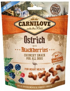 Carnilove Przysmak Crunchy Ostrich with Blackberries