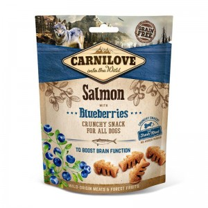 Carnilove Dog Snack Fresh Crunchy Salmon & Blueberries