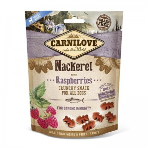 Carnilove Dog Snack Fresh Crunchy Mackerel & Raspberries