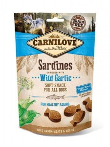 Carnilove Dog Snack Soft Sardines & Wild Garlic