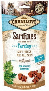 Carnilove Przysmak Soft Sardines with Parsley