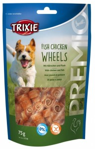 Trixie PREMIO Fish Chicken Wheels 75g