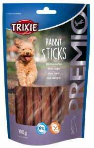 TRIXIE Premio Rabbit Sticks 100g